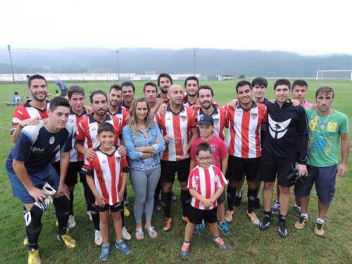 El equipo infantil se gusta en su estreno con VICTORIA Y TROFEO (4-2 al Vegadeo)