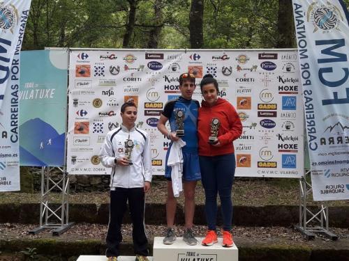A gran Xana Rodríguez, Campiona Galega de Montaña Junior en Lalín!!! Noraboa, grande!!! Seguimos!!!