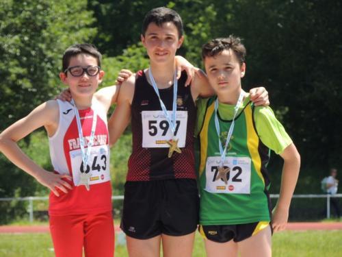 18 Admitidos no Galego de Menores Atletismo para Pontevedra 9 de Xuño!!! Vamos!!! Seguimos de récord!!!