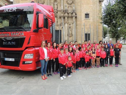 O Maderas Barcia Lourenzá asalta a Praza Conde Santo. A sección de atletismo e duatlon presentada oficialmente!!! Olga Vicente e Juan Luís Méndez incorpóranse ó corpo técnico!!!