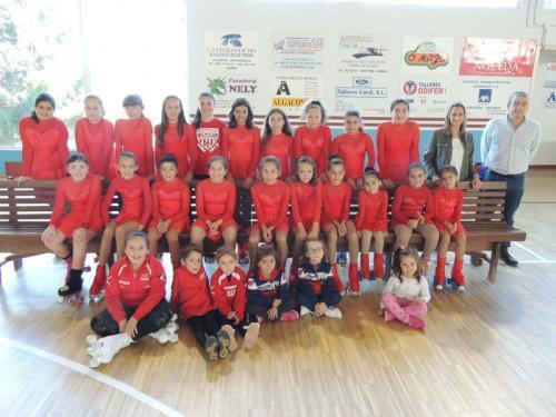 Presentada oficialmente a sección de patinaxe das escolas do Concello de Lourenzá!!! Go!!! Seguimos medrando!!!