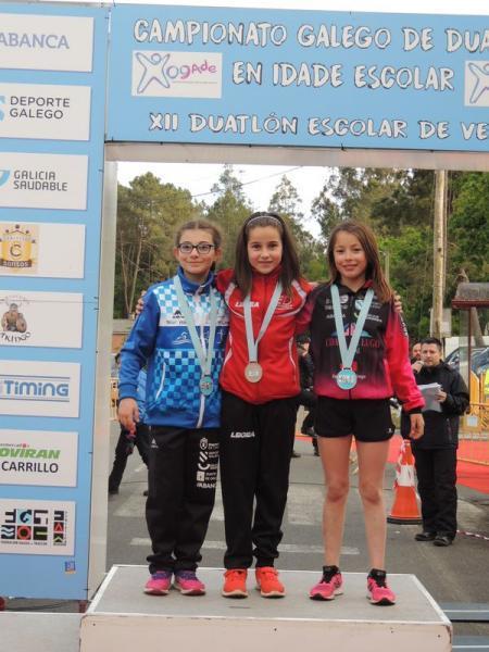Henar Méndez, CAMPIONA GALEGA DE DUATLON