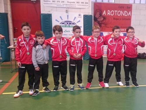 F. Sala Prebenxamín Maderas Barcia Lourenzá. Medalla de Bronce Provincial. Temporada 2016/2017