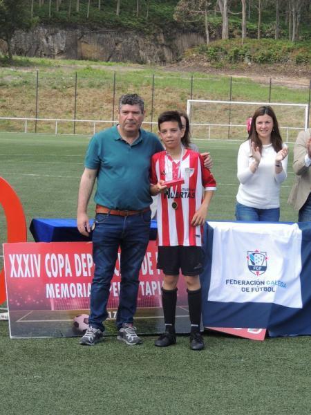 F8 Alevín. O Muebles Huertas, Subcampión de copa Provincial na final da Marosa diante do Lugo (5/1). Temporada para enmarcar!!!