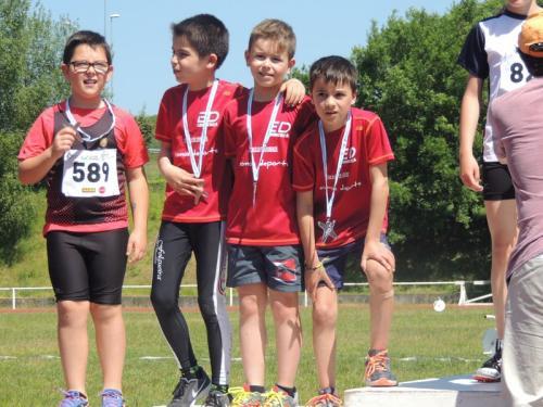 Tocamos teito de novo: Récord de metais das balas das Escolas no Campionato Provincial de Atletismo.... 38...... síiiiiiiiii...........38