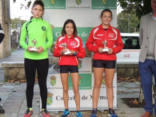 Carme Alonso vence en la Popular de Xermade. Marta, bronce también en infantil femenino. Además, Adriana Rebolo, subcampeona de O Corgo!!!