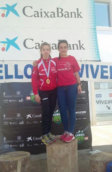 Carmen López Diniz, Líder da Copa Galega de carreiras de montaña en categoría Junior!!!