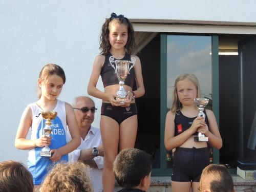 Varios Atletismo Escolas Lourenzá de un nuevo intenso fin de semana