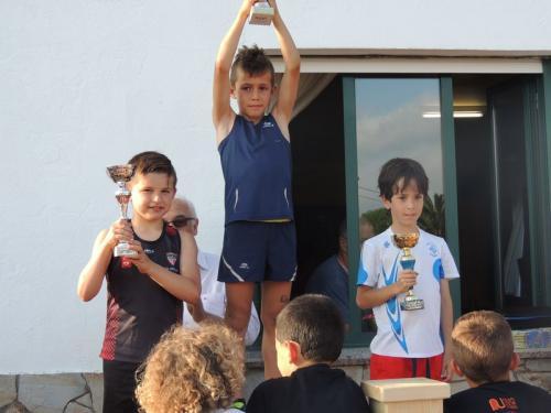Varios Atletismo Escolas Lourenzá dun novo intenso fin de semana