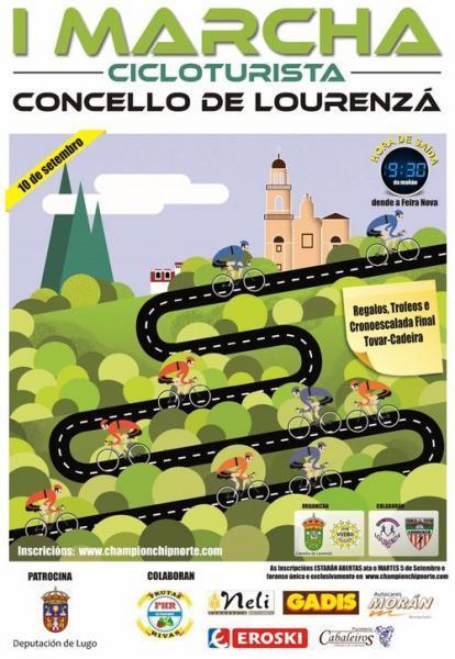 A I Marcha Cicloturista Concello de Lourenzá, en Marcha!!!